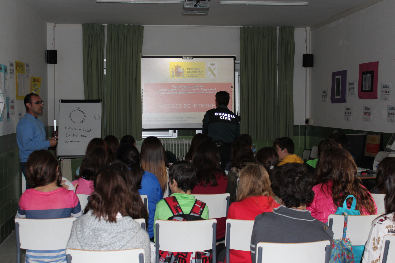 Taller guardia civil